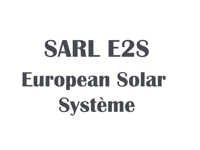 sarl e2s european solar syst me me r. Black Bedroom Furniture Sets. Home Design Ideas